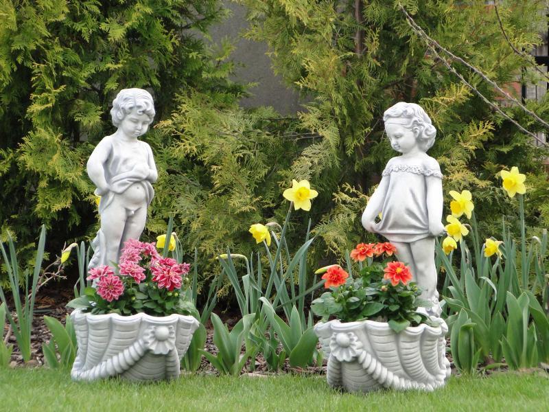 Скульптуры дачи